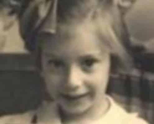 Jenny Alexander als kind